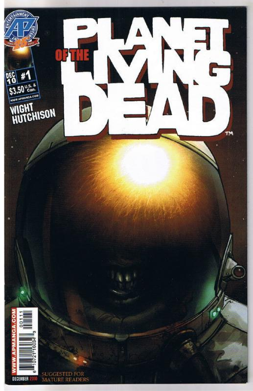 PLANET of the LIVING DEAD #1, NM, 2010, Zombies, undead, more Horror in store