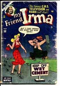 My Friend Irma #38 1953-Atlas-Dan DeCarlo-Good Girl art-low grade-P