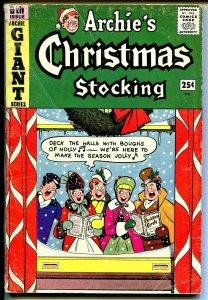 Archie's Giant Series #6 1959-Christmas caroling-Santa-Veronica-Betty-VG-