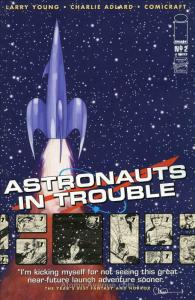 Astronauts In Trouble (Image) #2 VF/NM; Image   save on shipping - details insid