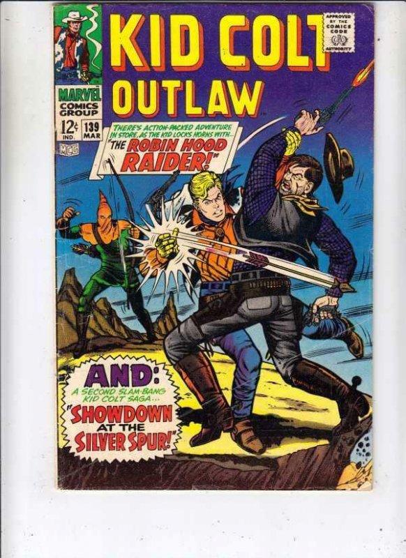 Kid Colt Outlaw # 139 strict FN- artist Werner Roth