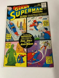 Giant Superman Annual 4 2.0 Gd Good Hole Punched Dc Silver Age