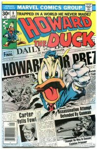HOWARD THE DUCK #8, VF/NM, Steve Gerber, Gene Colan, 1976 1977, Bronze age