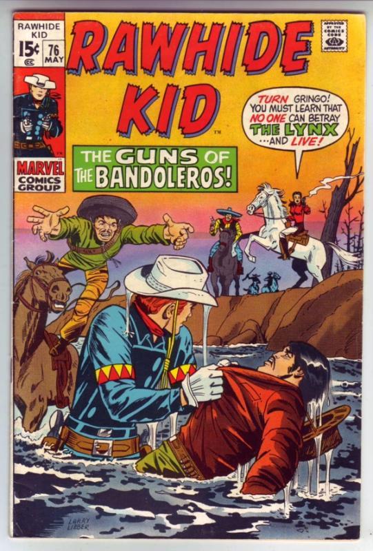 Rawhide Kid #76 (May-70) VF+ High-Grade Rawhide Kid