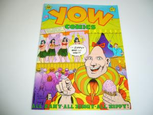 Yow #1 FN (1st) print ZIPPY THE PINHEAD bill griffith 1978 LAST GASP underground