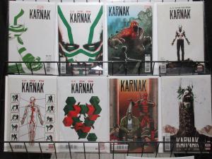 Karnak (Marvel 2015) #1-4, 6 Warren Ellis Writes the Inhuman SHIELD Teamup!