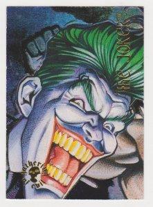 1995 DC Villains Gathering of Evil #GE-3 Joker Card