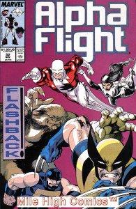ALPHA FLIGHT (1983 Series)  #52 Very Fine Comics Book