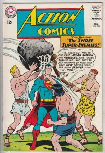 Action Comics #320 (Jan-65) NM- High-Grade Superman, Supergirl
