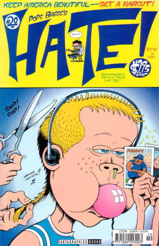 Hate #20 VF/NM; Fantagraphics | save on shipping - details inside