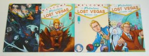 Lost Vegas #1-4 VF/NM complete series - A variants - jim mccann set lot 2 3