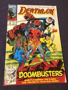 Deathlok #5 w/ Punisher  Marvel (1991) VF-