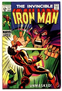 IRON MAN #11 comic book-MANDARIN-MARVEL-FN/VF