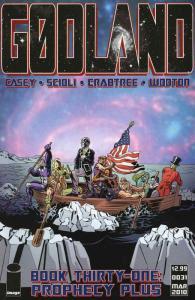 Godland #31 VF/NM; Image   save on shipping - details inside