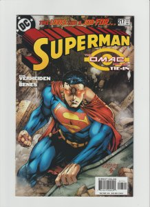 Superman #217 VF 8.0 (2005, DC) Omac Project Tie-In!!