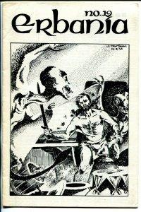 Erbania #19 1966-Edgar Rice Burroughs-Tarzan-J. Cawthorn-info-pix-art-FN
