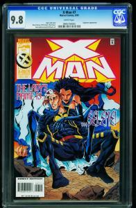 X-Man #7 1995- Sugarman- CGC Graded 9.8 White Pages- 0945703005