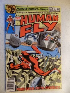 HUMAN FLY # 14 MARVEL BRONZE ACTION ADVENTURE FN-