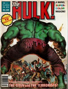 Rampaging Hulk #13 (1977 Magazine) VF