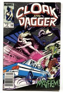 Cloak and Dagger #5-1985 Marvel 1st MEYHEM-Newsstand