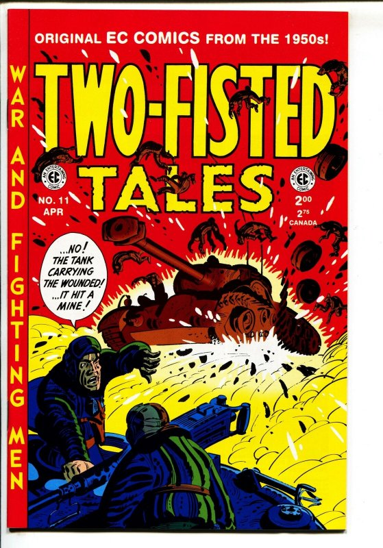 Two-Fisted Tales-#11-1995-Gemstone-EC reprint