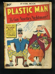PLASTIC MAN #2-COOL COVER-1944-GOLDEN AGE G