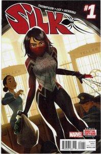 Silk #1 (2016 v2) Cindy Moon Mockingbird Black Cat NM