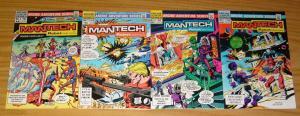 ManTech: Robot Warriors #1-4 VF/NM complete series DICK AYERS archie comics 1984