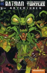 Batman/Teenage Mutant Ninja Turtles Adventures #3 VF/NM; IDW   save on shipping