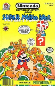 Nintendo Comics System (2nd Series) #6 VF/NM; Valiant | save on shipping - detai