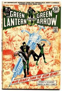 green lantern #86 anti-drug issue neal adams 1971 vf/nm