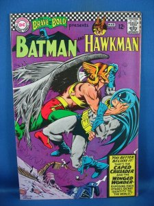 The Brave and the Bold #70 (Feb-Mar 1967, DC) F VF  BATMAN HAWKMAN