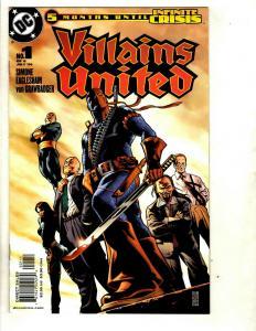 9 DC Comics Villains United # 1 2 3 4 5 6 Valor # 1 War of the Gods # 1 4 EK13