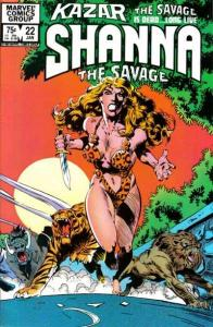 Ka-Zar the Savage #22, VF (Stock photo)