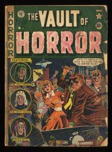 Vault of Horror #20 Missing Half Page.