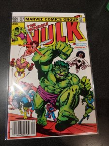​THE INCREDIBLE HULK #283 NM AVENGERS ISSUE