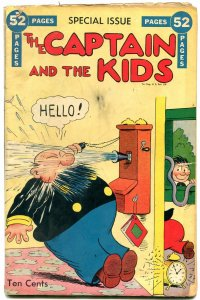 The Captain and the Kids Summer Special 1948- Golden Age comic VG