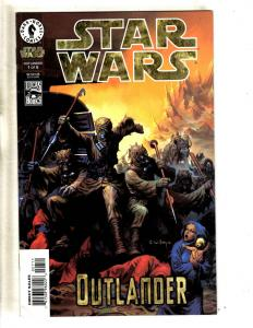 Lot Of 2 Star Wars Dark Horse Comic Books Outlander # 1 & 2 Lucas Books TP3