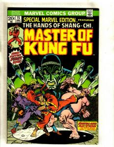 Special Marvel Edition # 15 VF Comic Book Feat. Shang Chi Master Of Kung Fu RS1