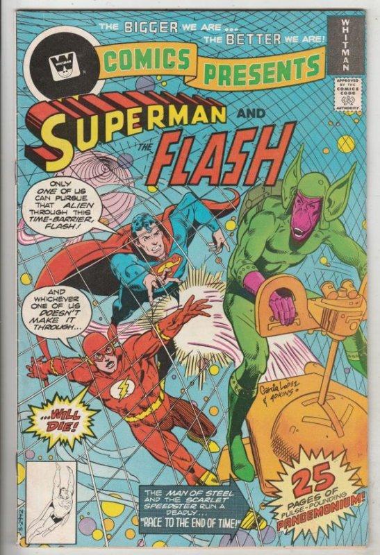 DC Comics Presents Whitman Variant #2 (Sep-78) VF High-Grade Superman