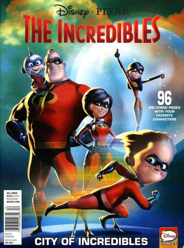 Disney-Pixar/Muppets Presents: Incredibles — City of Incredibles #1 VF/NM Marvel