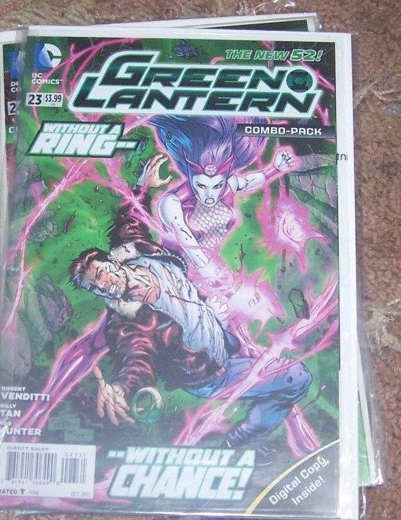 Green Lantern  #23  2013, DC new 52 +digital combo pack+simon baz Rebirth HOT