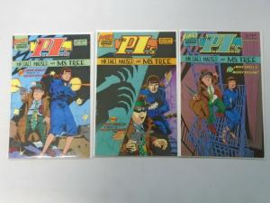 The PI's Michael Mauser and Ms. Tree set #1-3 NM (1985)