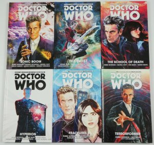 Doctor Who: New Adventures of the Twelfth Doctor HC #1-6 VF/NM complete series