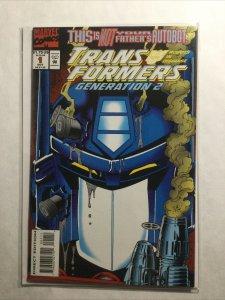 Transformers Generations 1 Near Mint Nm Marvel