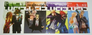 Lucid #1-4 VF/NM complete series - spy thriller mixed with king arthur legend
