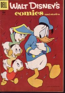 WALT DISNEY'S COMICS & STORIES #184 DONALD DUCK  BARKS VG