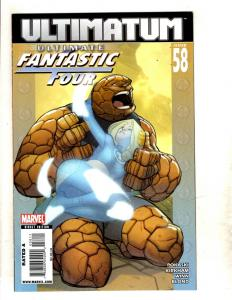 9 Comics Ultimate Fantastic Four 58 59 60 Annual 1 2 M 3 Unltd 5 Invasi 1 2 MF21