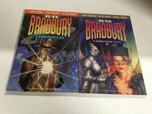 The Ray Bradbury Chronicles 1 2 Nm Near Mint Bantam Spectra SC TPB