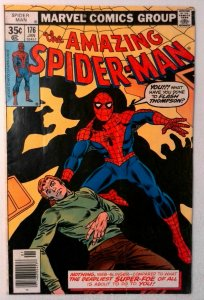 Amazing Spider-Man #176 Marvel 1978 FN Bronze Age Comic Book 1st Print